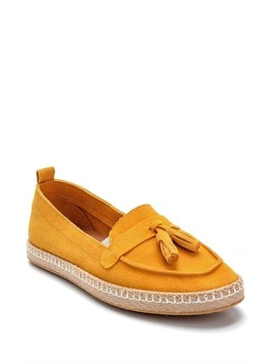 Derimod Kadın Sandalet(119) Casual Sarı
